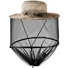 Anti Mosquito Hat Net Head Face Protector Bug Mesh Fishing Camping Sun Cap UV US