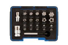 Estrella Torx Plus 5 y 6 Lados Conjunto de Bits Socket Set con agujeros T10-T60