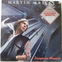 MARTIN BRILEY - Dangerous Moments ~ VINYL LP US PRESS PROMO