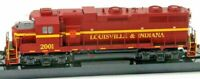 (Special Run) Atlas Gold 2471 Louisville & Indiana GP38 #2001 w/DCC & Sound NIB