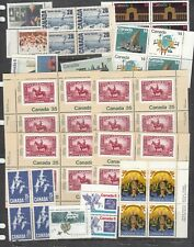 CANADA - TWO PAGES OF MINT NEVER HINGED - SEE SCANS FOR SELECTION