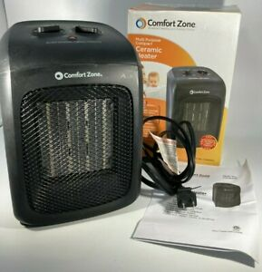 Comfort Zone * Multi-Purpose Portable  Compact Ceramic Heater * Fan-Forced Heat