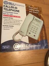 Bell Equipment Caller Id Telephone Be 50p. New In Box Vintage