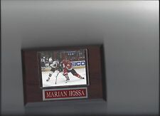 MARIAN HOSSA PLAQUE CHICAGO BLACKHAWKS HOCKEY NHL