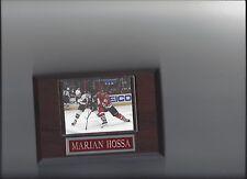 MARIAN HOSSA PLAQUE CHICAGO BLACKHAWKS HOCKEY NHL