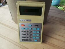 "Calculatrice Scientifique Vintage ""CITIZEN 820SR"" Antique Scientific Calculator"