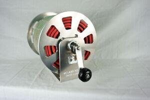 8 Slot Torch Hose Reel Mill Finish Aluminum.