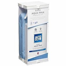 Rapid Autoglym Aqua Wax Kit 500ml with 2 Micro Fibre Cloths.