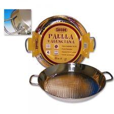 Paella Pfanne aus Edelstahl für Induktion & Herd 28cm