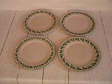 Williams Sonoma Anfora Verde Dinner Chop Plates, Set of 4 - Mint Condition