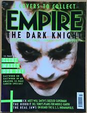 EMPIRE Magazine July 2008 #22,Heath Ledger The Dark Knight,Joker,Clint Eastwood