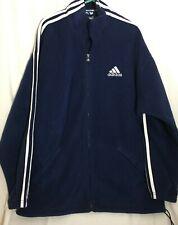 Mens Adidas Fleece Blue Jacket Size 38/40 Ref 433