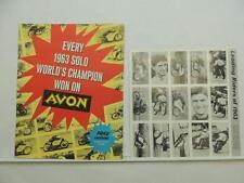 1963 Road Racing Trading Cards Speedmaster MKII Laszlo Szabo Jim Redman L9635
