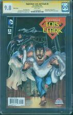 Superman 5 CGC SS 9.8 Neal Adams Lois Clark Detective 407 Homage Variant 4/16