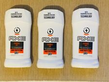 3 x Axe Deodorant Stick (Charge Up Antiperspirant & Deodorant 48HR Protection)