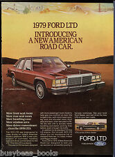 1979 FORD LTD advertisement, Ford LTD Landau sedan