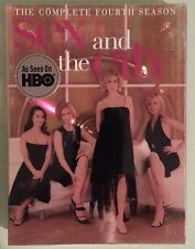 SEX AND THE CITY  the complete fourth season      DVD NEW
