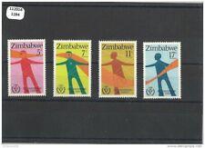 112014/1284 - ZIMBABWE 1981 - YT N° 25/28 ** (MNH) LUXE