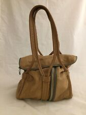 Diesel Black Gold Buttery Soft Leather Purse w/Smaller Inner Bag