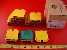 Allen Bradley 1492-WG16 Lot of (10) Ser B Terminal Blocks Switch 1492WG16 New
