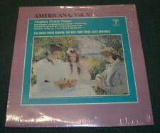Americana Vol. V Stephen Foster Songs Gregg Smith Singers New York Vocal Arts LP