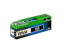 5 Rolls FujiChrome VELVIA100 RVP100 35mm  135-36 Fresh Slide Film Fresh 2020
