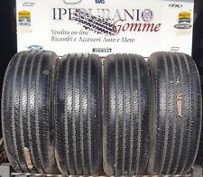 TRENO Gomme Semi Nuove 225/60/16 97S Michelin Symmetric M+S con 8.0 MM 2256016