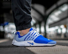 Nike Air Presto Correr Zapatillas Zapatos Gimnasio Informal-UK 11 (EUR 46) Racer Azul