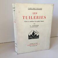 G. Lenotre Las Tullerías París Mon Pueblo Firmin-Didot 1933
