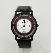 Vintage Roulette Wheel Watch Gamblers Watch