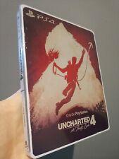 Uncharted 4 ladrón's solamente en Playstation Custom STEELBOOK [sin juego incl] [PS4]