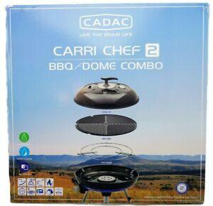 Cadac Carri Chef 2 Gasgrill Grill BBQ / DOME Combo 50 mbar + GRATISZUGABE