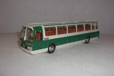 SCHUCO Mercedes Benz Reisebus 1:66 O303 Omnibus O 303 Reisebus Bus Coach grün