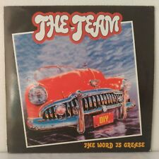 "The Team – The Word Is Grease (Vinyl, 12"", Maxi 33 Tours)"