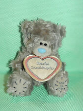 Me To You peluche ourson 13 cm *-* PETITE FILLE *-* grand coeur tissu rose
