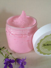 CHERRY VANILLA Body SCRUB -Dead Sea Salt,exfoliant,Cleansing,Handmade,SPA Uptown