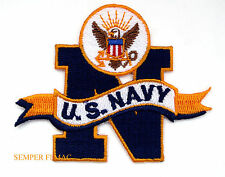 US NAVY SEAL BIG BLUE N YELLOW RIBBON PATCH US MILITARY SAILOR WOW