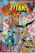 New Teen Titans (Vol. 2) # 13 (Crisis cross-over) (USA, 1985)