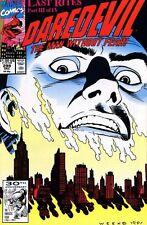 Daredevil #299 Near Mint (Vol 1 1963) Last Rites Story Kingpin App