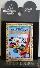 Disney WDW Nostalgia Movie Poster Mickey & Minnie Building a Building LE Pin