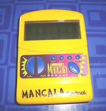 MANCALA  Electronic Handheld Travel Game Cardinal Awesome Rare Game