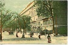 CARTE POSTALE NICE BD. VICTOR HUGO HOTEL DES ILES BRITANIQUES