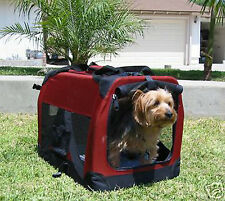 NEW Small Travel Foldable Cat Dog Pet Soft-Sided Crate/Carrier/Kennel-537