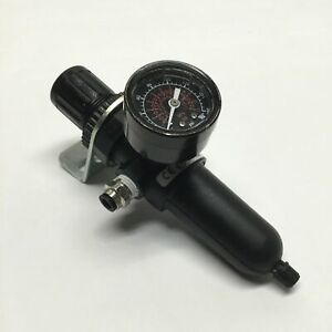 """Norgren B07-234-A1KA Pneumatic Filter/Regulator, 250psi Max, 1/4"""" NPT w/Gauge"""
