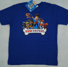 Paw Patrol - T-Shirt, United Labels, Größe 110/116, Blau mit Print Paw Patrol