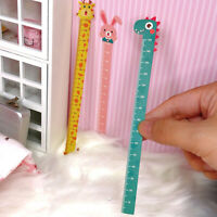 3Pcs 1/12 Dollhouse Miniature Cartoon Height Ruler Doll House Accessories ToysSF