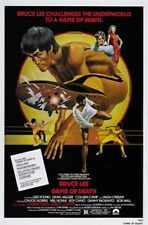 Game Of Death (1978) Bruce Lee cult movie poster 24x36 inches