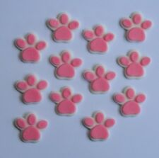 24 edible DOG CAT PAW PRINT animal CUPCAKE cake topper DECORATION PATROL puppy