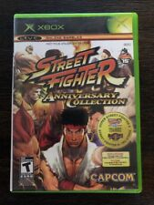 Street Fighter Anniversary Collection - ( Microsoft Xbox , 2005 ) Complete !