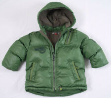 CATIMINI BOY'S 18 M (80 Cm) GREEN PADDED WINTER COAT NEXT DAY POST